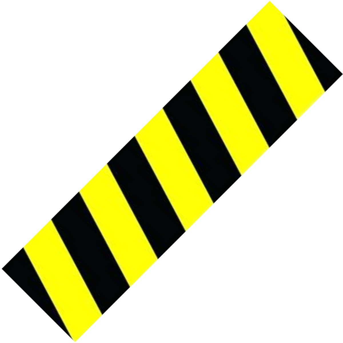 "An image of Hazard Black Yellow Scooter Griptape - 23"" x 6"""