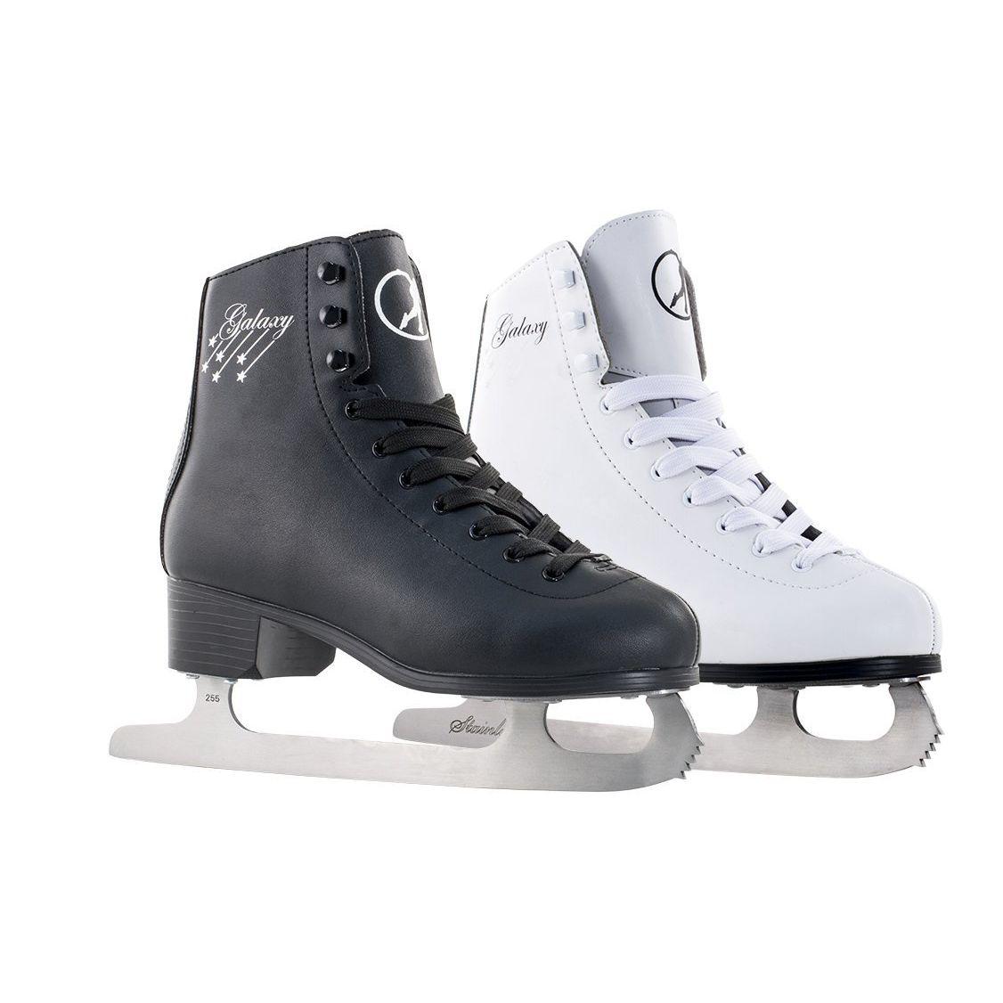 SFR White Galaxy Figure Ice Skates Women/'s Optional Pro Ice Skate Bag /& Guards