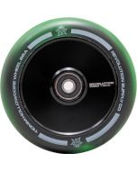 Revolution Supply Fused Core 110mm Scooter Wheel - Black / Green