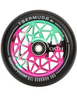 Oath Bermuda 110mm Scooter Wheel - Pink Green