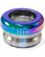 Drone Synergy 2  Integrated Scooter Headset - Neochrome Oil Slick