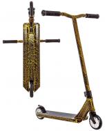 Crisp Inception 2020 Complete Stunt Scooter - Gold Cracking