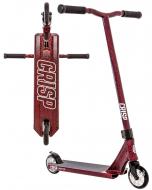 Crisp Inception 2020 Complete Stunt Scooter - Red Cracking