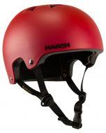Harsh Matte Red Skate Helmet Pro EPS