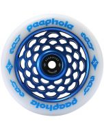 Sacrifice Spy Peephole 110mm Scooter Wheel - Blue