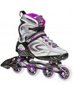 Roller Derby Aerio Q-80 Inline Skates - Silver / Purple