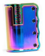 Elite Profile SCS Scooter Clamp – Neochrome Oil Slick