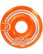 Enuff Refresher II Skateboard Wheels - Orange