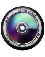Root Industries AIR Hollowcore 120mm Scooter Wheel - Black / Neochrome Rocket Fuel