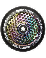 Root Industries Honeycore 110mm Wheel - Black / Rocket Fuel Neochrome