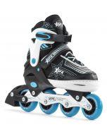 SFR Pulsar Blue Adjustable Inline Skates / Rollerblades