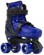 SFR Nebula Adjustable Quad Roller Skates - Blue