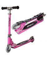 JD Bug Original Street Pastel Pink MS130B Push Foldable Scooter