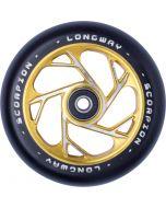 Longway Scorpion 110mm Stunt Scooter Wheel - Gold