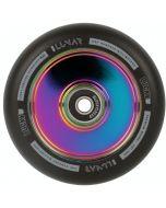 Lucky Lunar Neochrome Rainbow Oil Slick Hollow Core 100mm Scooter Wheel