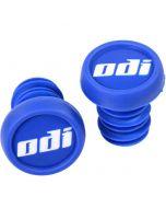 ODI BMX Scooter Push In Bar End Plugs (2 Pack) - Blue