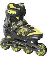 Roces Jokey 3.0 Adjustable Inline Skates - Black / Lime