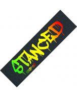 Stanced Logo Scooter Griptape - Rasta