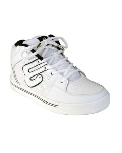 Elyts Icon Mid Top Skate Shoes - Action White UK2