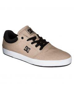 DC Crisis TX Skate Shoes - Tan Brown