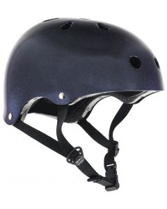 SFR Essentials Purple Fleck Black Skate Helmet