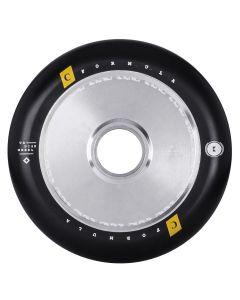 UrbanArtt 120mm Classic Hollow Core Scooter Wheels - Chrome