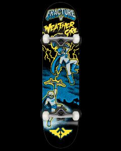 "Fracture X Jon Horner 7.25"" Complete Skateboard - Weather Girl"