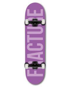 "Fracture Fade Purple Complete Skateboard 7.75"" x 31"""