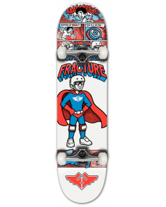 "Fracture X Jon Horner 8"" Complete Skateboard - Fracture Man"