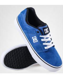 DC Bridge Mens Skate Shoes - Black / Blue / White