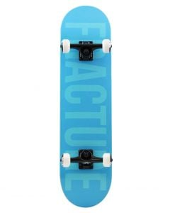 """Fracture Fade Blue Complete Skateboard 7.75"""" x 31"""""""