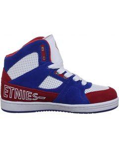 Etnies Ollie Long SMU Skate Shoes - Blue / Red / White UK5