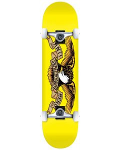 "Anti Hero Classic Eagle 7.3"" Complete Skateboard - Yellow"