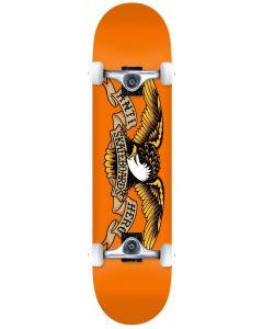 "Anti Hero Classic Eagle 7.75"" Complete Skateboard - Orange"