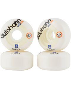 Autobahn Dual Duro Ultra Classic Skateboard Wheels - White