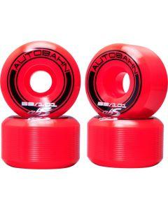 Autobahn GT1 Wide Body Skateboard Wheels - Red