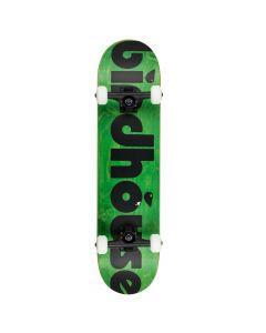 "Birdhouse Bird Turd Logo Green Complete Skateboard - 8"" x 31.5"""