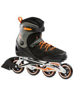 Bladerunner 2021 Formula 84 Inline Roller Skates - Black / Orange