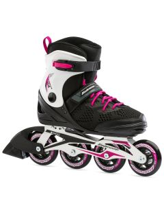 Bladerunner 2021 Formula 84 Inline Roller Skates - Black / Raspberry