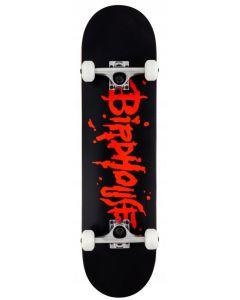 "Birdhouse Stage 1 Blood Logo Complete Skateboard - 8"" x 31.5"""