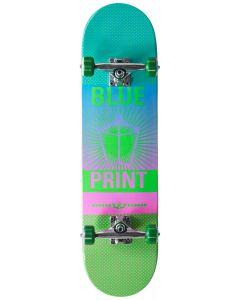 "Blueprint Pachinko Fade Complete Skateboard - 31"" x 8"""