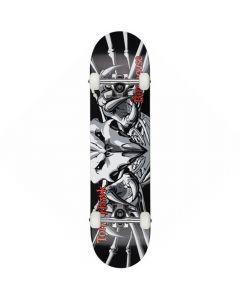 "Birdhouse Falcon 3 Black Complete Skateboard - 7.75"" x 31"""