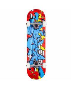 "Rocket Bricks Mini Complete Skateboard - 28.5"" x 7.375"""
