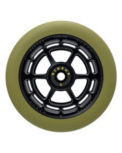 Urbanartt Civic Scooter Wheels - 110mm - Black / Green