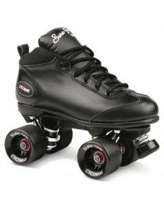 Suregrip Cyclone Quad Skates - Black UK5 / EU38
