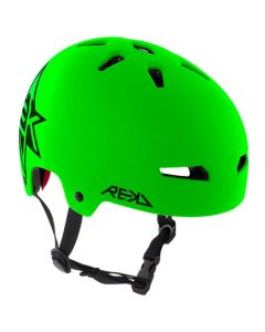 REKD Elite Icon Skate Helmet - Green / Black