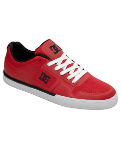 DC Pure NS Skate Shoes - Red / Black