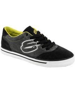 Elyts Ruckus Low Top Skate Shoes - Black / Grey / Green