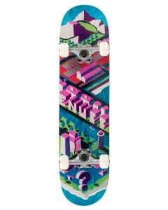 """Enuff Isotown 7.75"""" Complete Skateboard - Blue"""