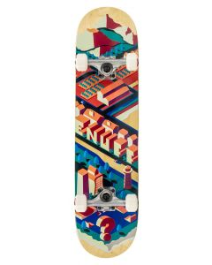 """Enuff Isotown 7.75"""" Complete Skateboard - Natural"""